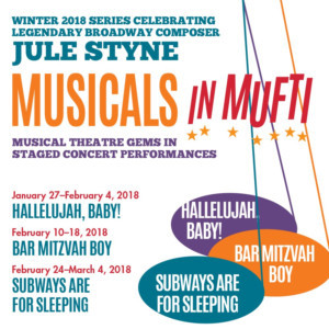 York Theatre Company Announces Cast For The Musicals In Mufti Presentation Of SUBWAYS ARE FOR SLEEPING