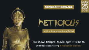 United Palace to Screen METROPOLIS With Live Score