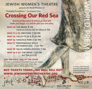 New Theatrical Show and Art Exhibit Features Powerful Stories of Letting Go and Liberation in a Re-Examination of Passover