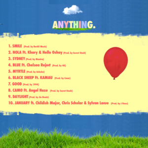 Kota The Friend Releases 'Anything' with Angel Haze, Childish Major, Sylvan LaCue