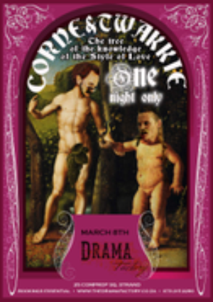 CORNE AND TWAKKIE- THE TREE OF THE KNOWLEDGE OF THE STYLE OF LOVE Comes to The Drama Factory