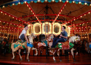 Tony Winner, Paul Sands, Offers Theater In The Merry-Go-Round At The Santa Monica Pier