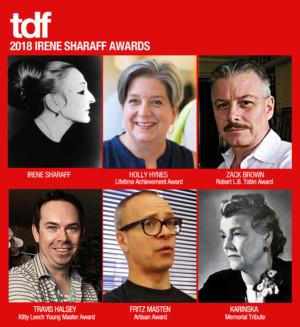 Holly Hynes and Zack Brown Among 2018 TDF/Irene Sharaff Awardees