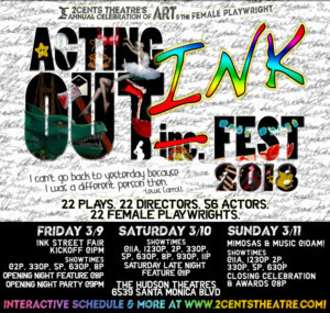 2Cents Theatre Presents 5th Annual ACTING OUT INKFEST