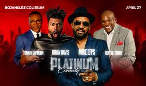 Platinum Comedy Tour Coming To Bojangles' Coliseum 4/27