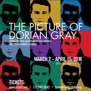 THE PICTURE OF DORIAN GRAY Comes to City Lit, 3/11