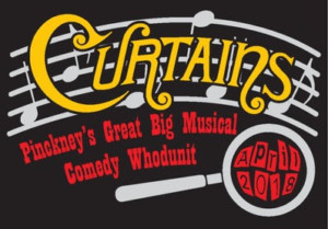 Tickets Now On Sale for CURTAINS at Pickney Players'