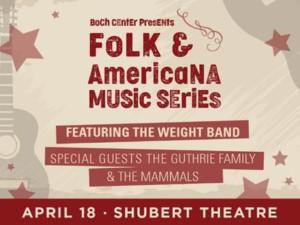 Boch Center Announces New Folk & Americana Music Series