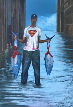 Contemporary Cuban Art Exhibit Explores The Fabric & Discourse Of Artists Outside Of Cuba