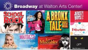 Walton Arts Center Announces 2018-19 P&G Broadway Series