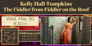 Kelly Hall Tompkins Announces Feinstein S 54 Below Solo Debut