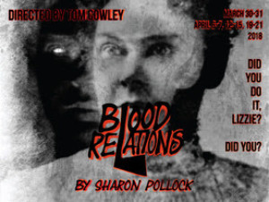 BLOOD RELATIONS Opens This Weekend at Carpenter Square Theatre