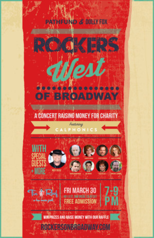 Full Lineup Announced for ROCKERS WEST OF BROADWAY