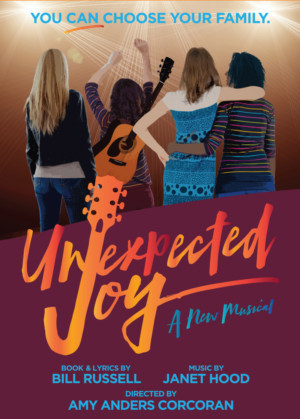 Cast and Creative Team Announced For The New York Premiere Of UNEXPECTED JOY