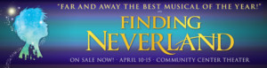 FINDING NEVERLAND to Fly Into Community Center Theater