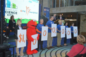 PNC Foundation Awards Seven Figure Grant To Support Science City