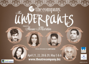 TV's Teddy Coluca To Lead New Jersey's The Company Theatre Group's Production Of Steve Martin's Comedy - THE UNDERPANTS