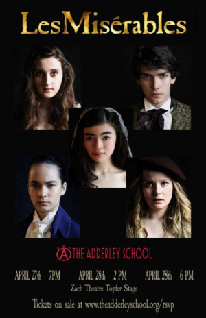 The Adderly School Announces LES MISERABLES At The ZACH Theatre