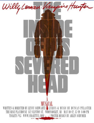 Daydream Theatre Company Presents the World Premiere of THE INSIDE OF HIS SEVERED HEAD