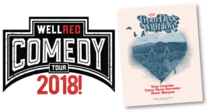 WELLRED COMEDY TOUR Comes to Boulder Theater, 8/12