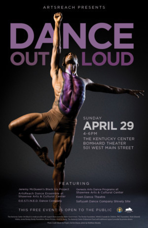 The Kentucky Center's ArtsReach Presents Dance Out Loud Featuring The Black Iris Project
