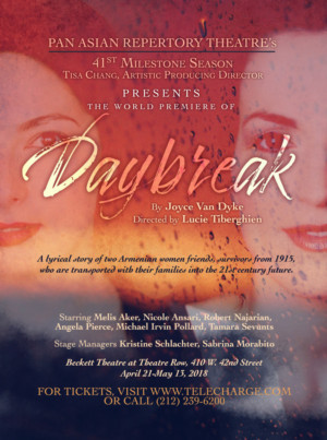 Pan Asian Repertory Theatre's World Premiere Production Of DAYBREAK Begins Peformances Tomorrow