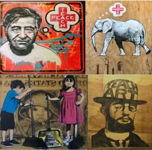 Renowned Street Artist 'Teachr' And Students Teach Peace Through Art