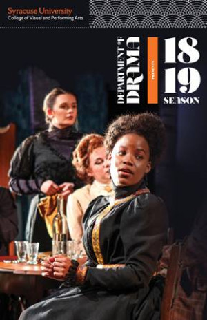 Syracuse University Drama Announces 2018/2019 Season