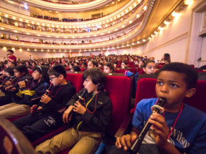 Carnegie Hall Presents LINK UP: The Orchestra Sings On 5/22-24
