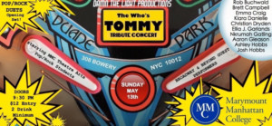 Damn The Light Productions Presents THE WHO'S TOMMY Tribute Concert/MMC PopRock Showcase