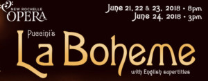New Rochelle Opera Presents LA BOHEME