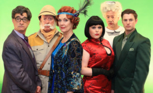 Flat Rock Playhouse Presents CLUE THE MUSICAL