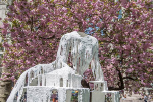 Diana Al-Hadid's Delirious Matter Is Now Officially Open In Madison Square Park