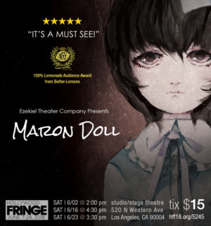 MARON DOLL Comes to Studio Stage Theatre This June