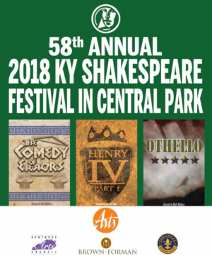 2018 Kentucky Shakespeare Festival Comes to Central Park
