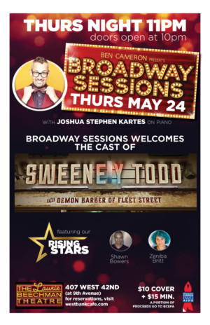 The Cast of SWEENEY TODD Will Perform at Broadway Sessions
