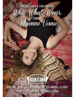 Adrienne Visnic Premieres WHO. WHAT. WEAR. at Rockwell Table & Stage