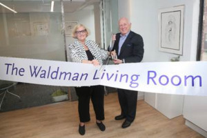 The Actors Fund Dedicates The Waldman Living Room For Performing Arts And Entertainment Professionals Aged 65+