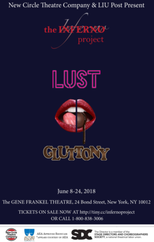 New Circle Theatre Company And LIU Post Present THE INFERNO PROJECT: LUST AND GLUTTONY