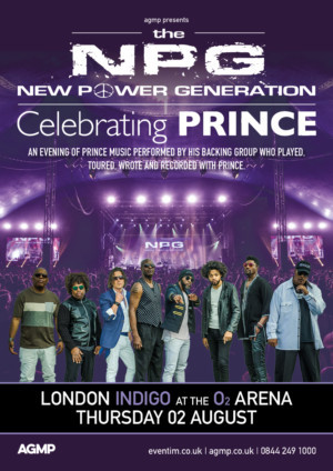Prince's Band New Power Generation Returns To London To Play Indigo 02 Arena