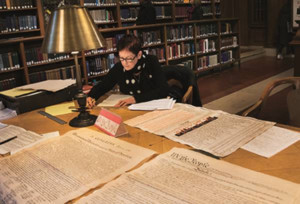 Art Center and Summit Free Public Library Present Morgan O'Hara: Handwriting the Constitution