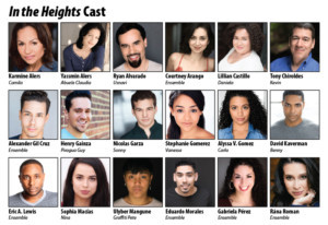 Complete Cast Announced For IN THE HEIGHTS At Milwaukee Rep