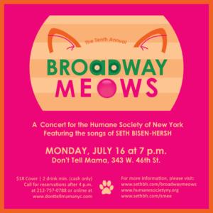 Keri Rene Fuller Joins 10th Annual Broadway Meows