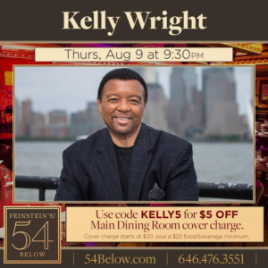 Kelly Wright Takes the Stage at Feinstein's/54 Below