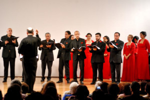 El Coro De Madrigalistas Recorre Península Ibérica Con Paisaje Español