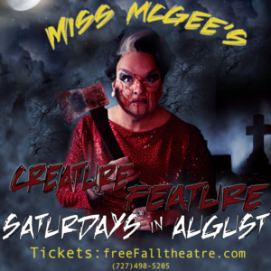 Join FreeFall This August For MISS MCGEE'S CREATURE FEATURE