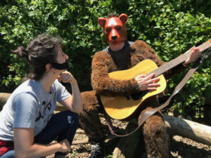 BON IVER FIGHTS A BEAR: A Folk Music Fantasia Comes To Philly Fringe