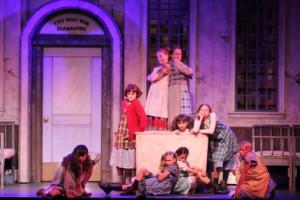 Seventeen Local Children Perform In Broadway Palm's ANNIE