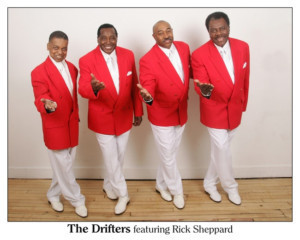 The Drifters Return To Midland Cultural Centre!, Today