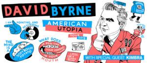 David Byrne Announces Special Guest Kimbra On  Australian & New Zealand Tour